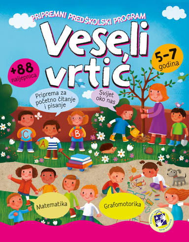 Veseli vrtić- bosanski jezik (latinica)